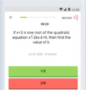 ICSE 10 Maths | Problems on Quadratic Equations | Problems